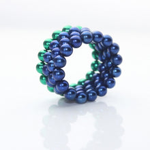Load image into Gallery viewer, Original 5MM 216PCS Blue Buckyballs Magnetic Balls Puzzles Desktop Balls Toys