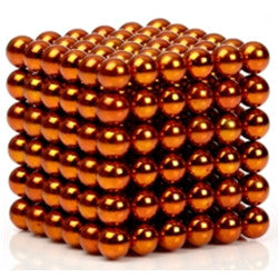 Original 5MM 216PCS Orange Buckyballs Magnetic Balls Puzzles Desktop Balls Toys