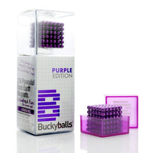 Load image into Gallery viewer, Original 5MM 216PCS Purple Buckyballs Magnetic Balls Puzzles Desktop Balls Toys