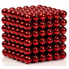 Load image into Gallery viewer, Original 5MM 216PCS Red Buckyballs Magnetic Balls Puzzles Desktop Balls Toys