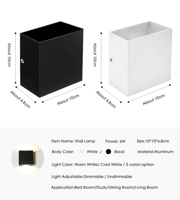 LED Square Wall Lamp