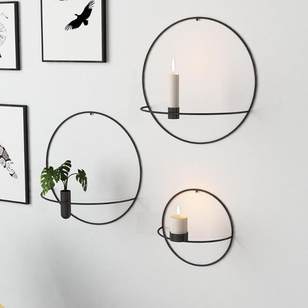 3D Wall Mounted Candle Holder