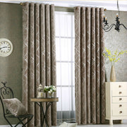 Jacquard Chenille Window Curtain