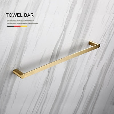 Luxury Golden Bathroom Hardware Set