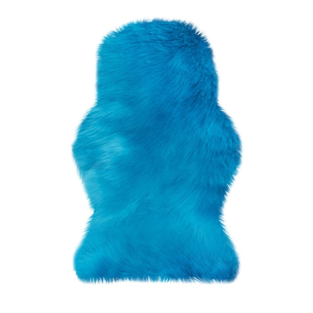 Artificial Sheepskin Hairy Carpet