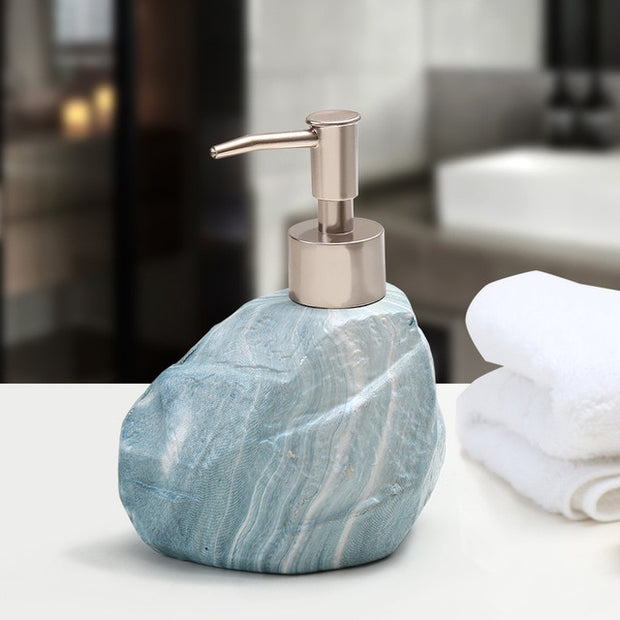 Ceramic Stone Soap Dispenser