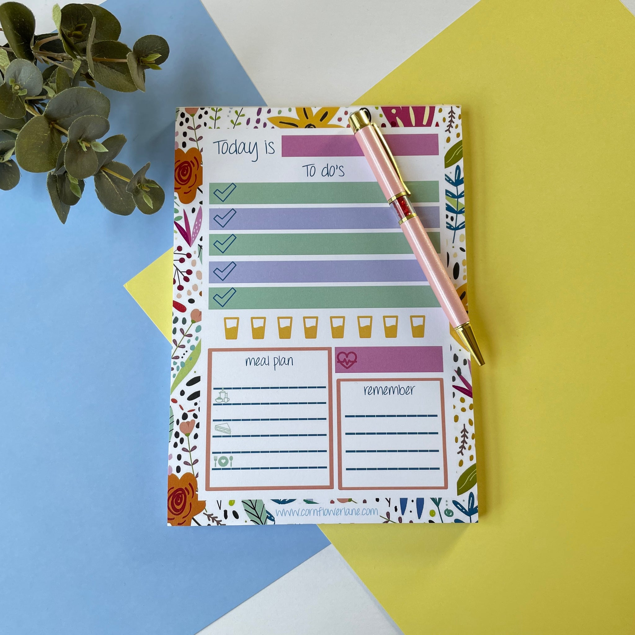 A5 Daily Planner Pad
