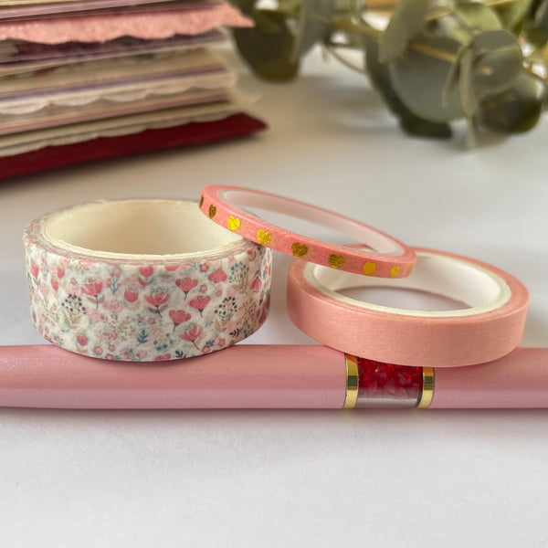 Set of 3 Washi Tapes