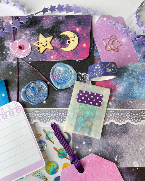 Small Space/ Galaxy Journaling Kit