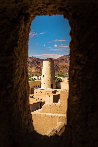 Through the window | Oman