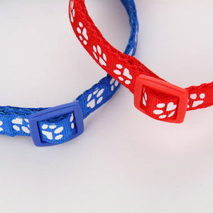 Adjustable Buckle Pet Collar With Bell Cutie Pets