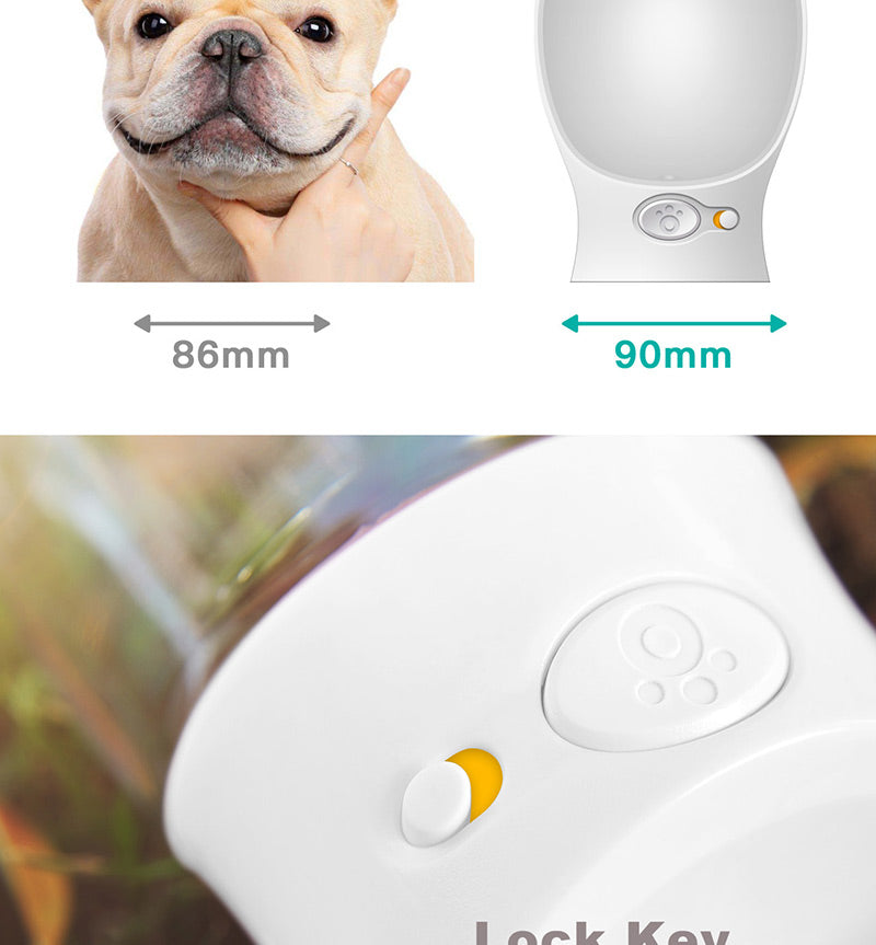 Dog Portable Water Bottle for Walking Cutie Pets