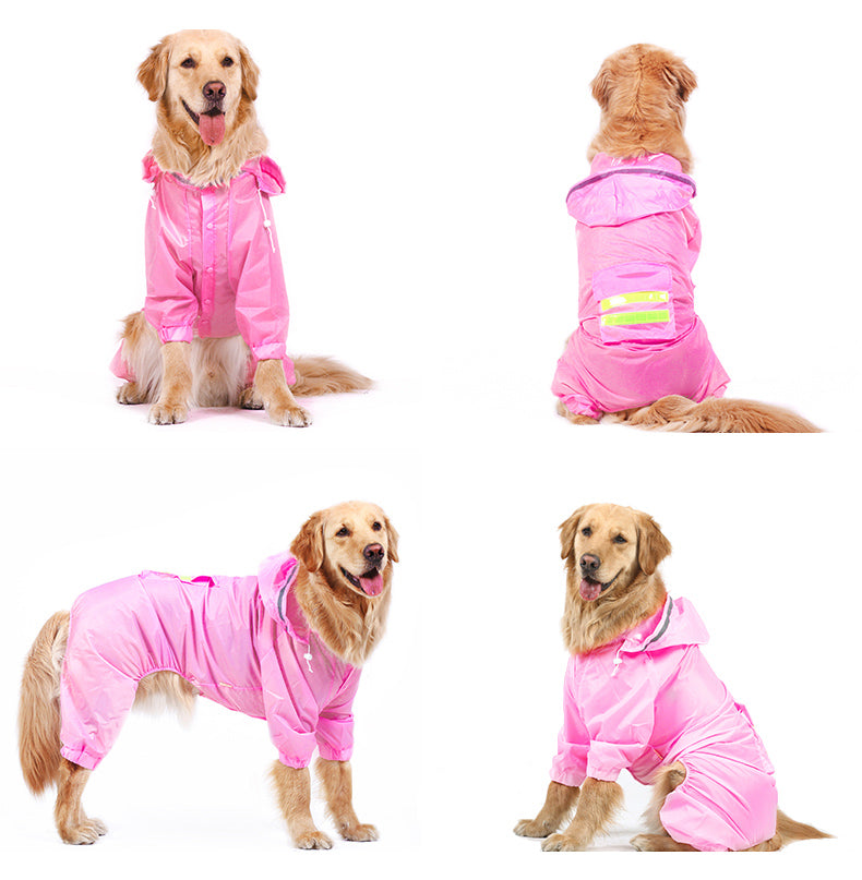 Dog Jumpsuit Rain Coat Cutie Pets