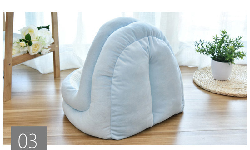Cat Bed House Soft Warm Cat Nest Cave Beds Half Cover Windproof Cutie Pets