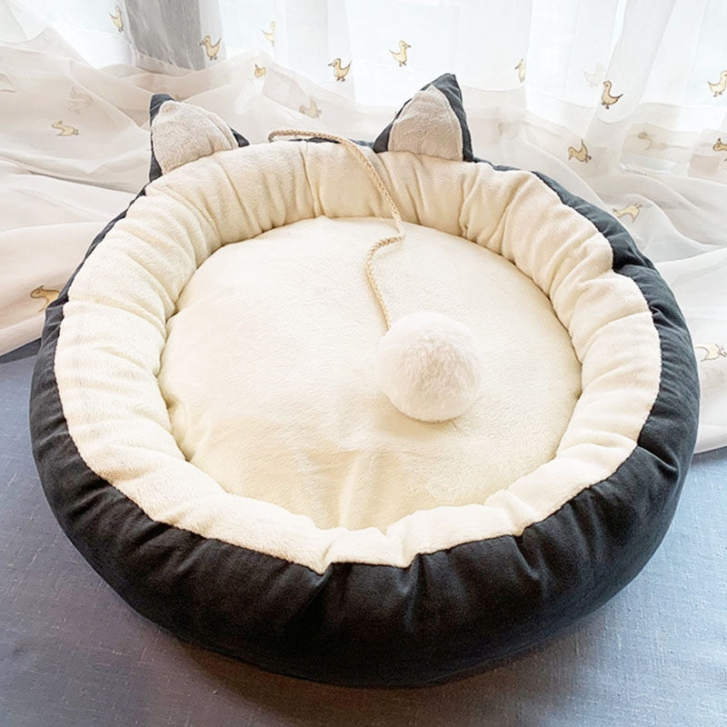 Soft Warm Cat Bed Sleeping Cat Nest Beds Cutie Pets