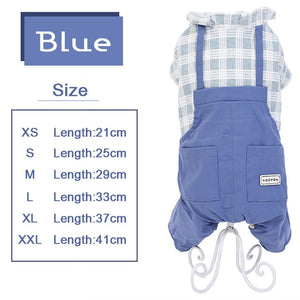 Dogs Overalls Pet Jumpsuit Puppy Cat Clothing Cutie Pets