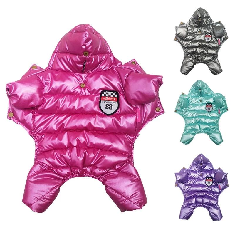 Dog Winter  Jumpsuit Clothes Cutie Pets