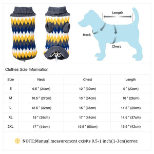 Soft Pet Dog Clothes Puppy Warm Dogs Sweater Jacket Cutie Pets