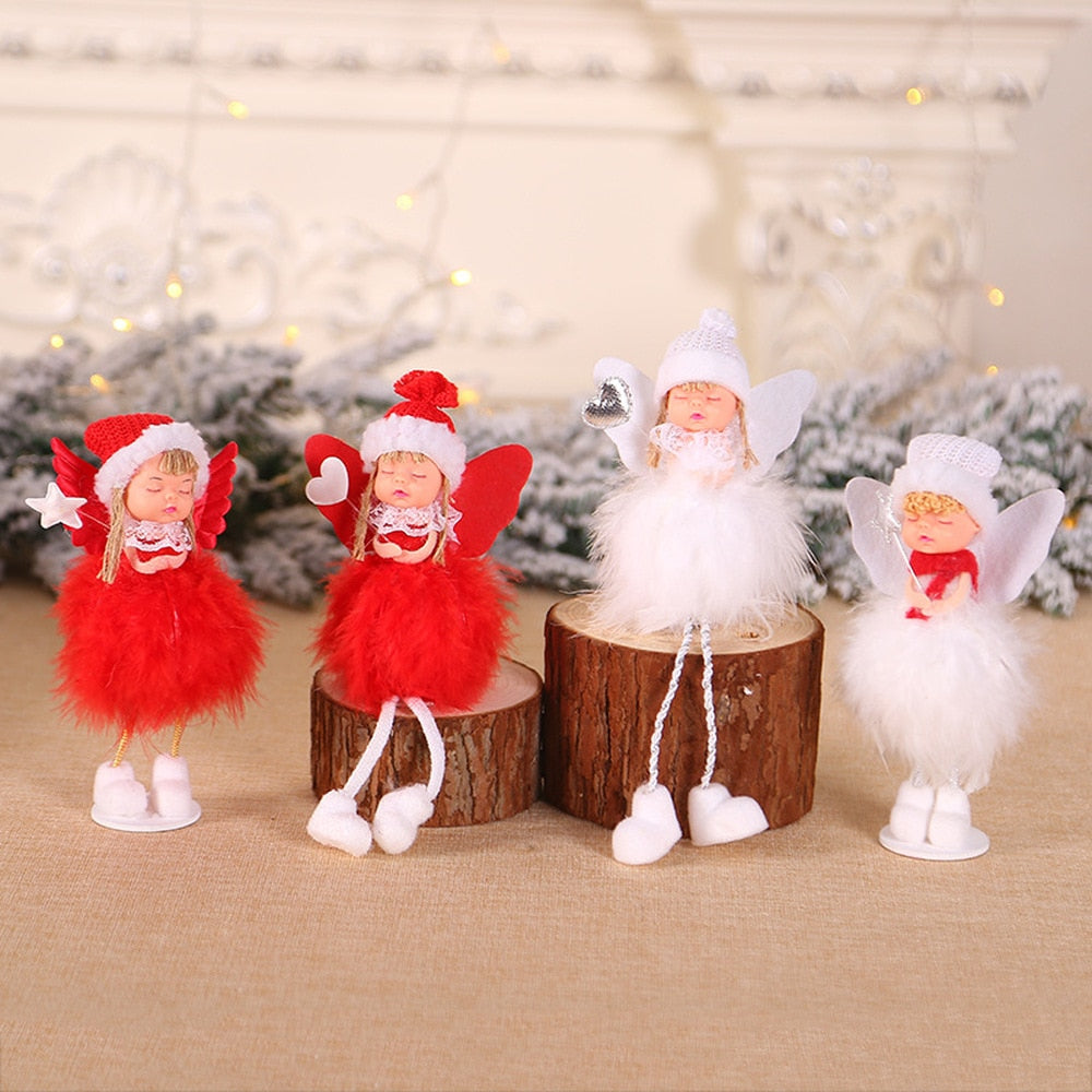 Christmas Angel Doll Decorations  ReindeerChristmas Elf Cutie Pets