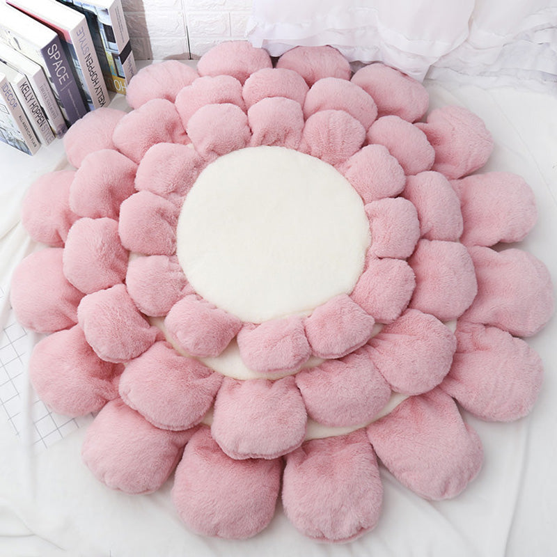 Warm Puppy Cushion Flower Bed For Dogs and Cats Cutie Pets