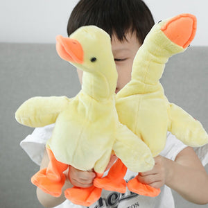 Electric Walking Singing Plush Stuffed Duck Animal Doll Furreal Pets Toy Cutie Pets