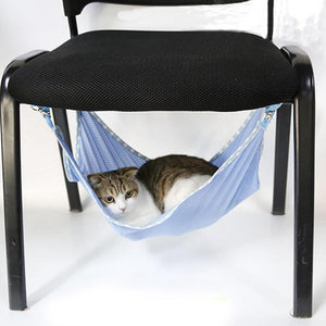Useful Cute Cats Summer Home hammock Cat Accessory Portable Cats Pets Breathable Mesh Hammock Multifunction Cats Beds 3 Colors