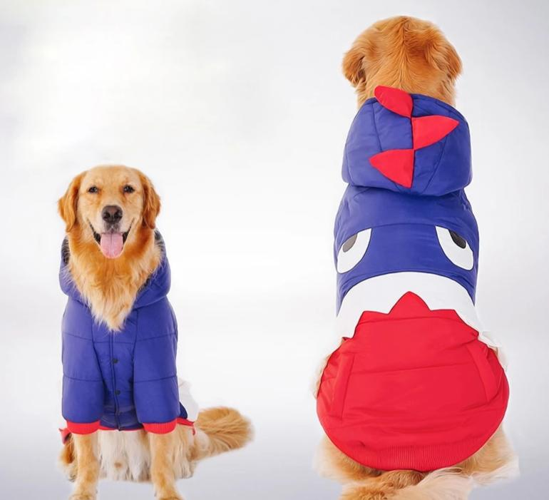Fashion Big Dog Warm Suit Coat Hoodie Cutie Pets