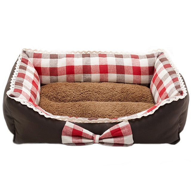 Cute Bow Princess Dog Beds Cutie Pets