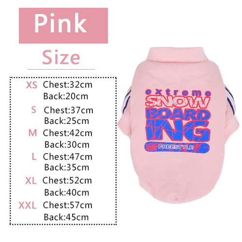 Dog Pink Clothes Coat for Samll Dogs Cutie Pets