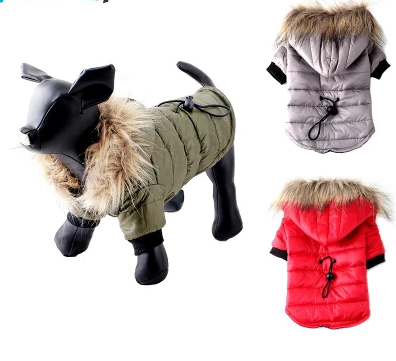 Winter Dog Jacket Cutie Pets