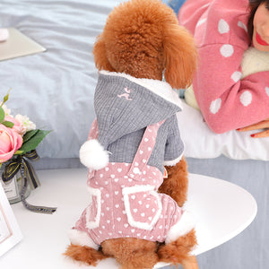 Dog Cat Clothing Puppy Soft Comfortable Clothes  Cutie Pets
