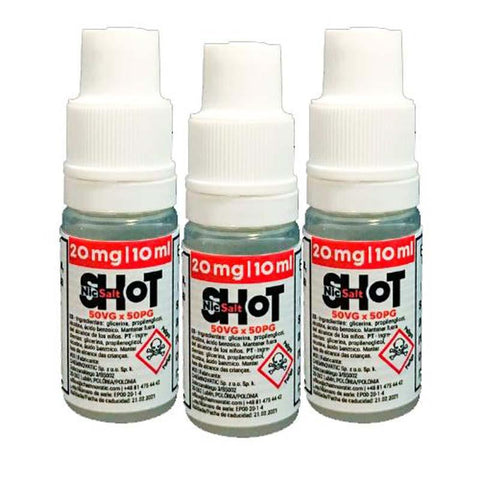 Chemnovatic Salt Nic Shot 20 mg - El Vapor Vape Shop