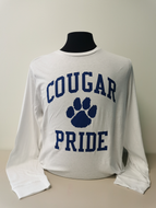 Cougar Pride Long Sleeve T-Shirt