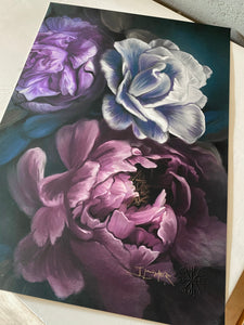 DARK FLOWERS - Juliana Loomer - Signed and Numbered