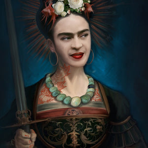 ST. FRIDA - Juliana Loomer - Signed and Numbered