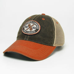 Old Favorite Black/Orange Trucker Hat