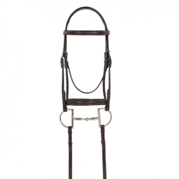 Ovation® ATS Round Raised Fancy Stitch Bridle