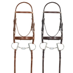 Pessoa® PRO Fancy Stitched Wide Nose Bridle