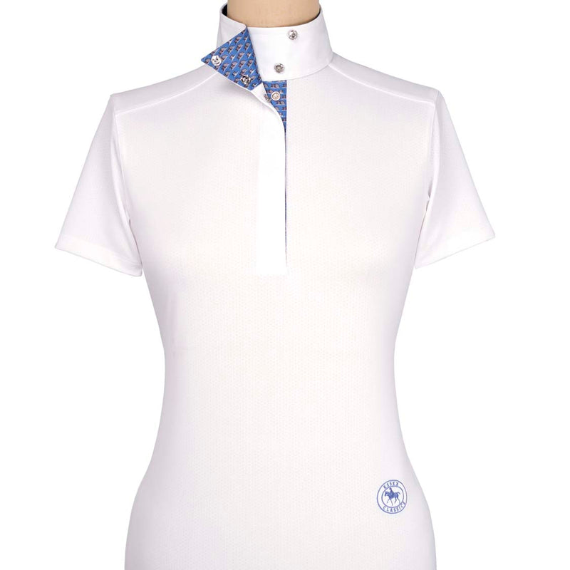 "Essex Classics ""Zippo"" Ladies Short Sleeve Talent Yarn"