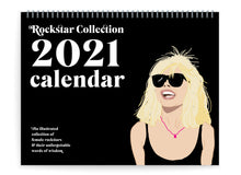 Load image into Gallery viewer, Female Rockstars 2021 Calendar