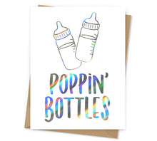 Load image into Gallery viewer, Poppin' Bottles Baby Card