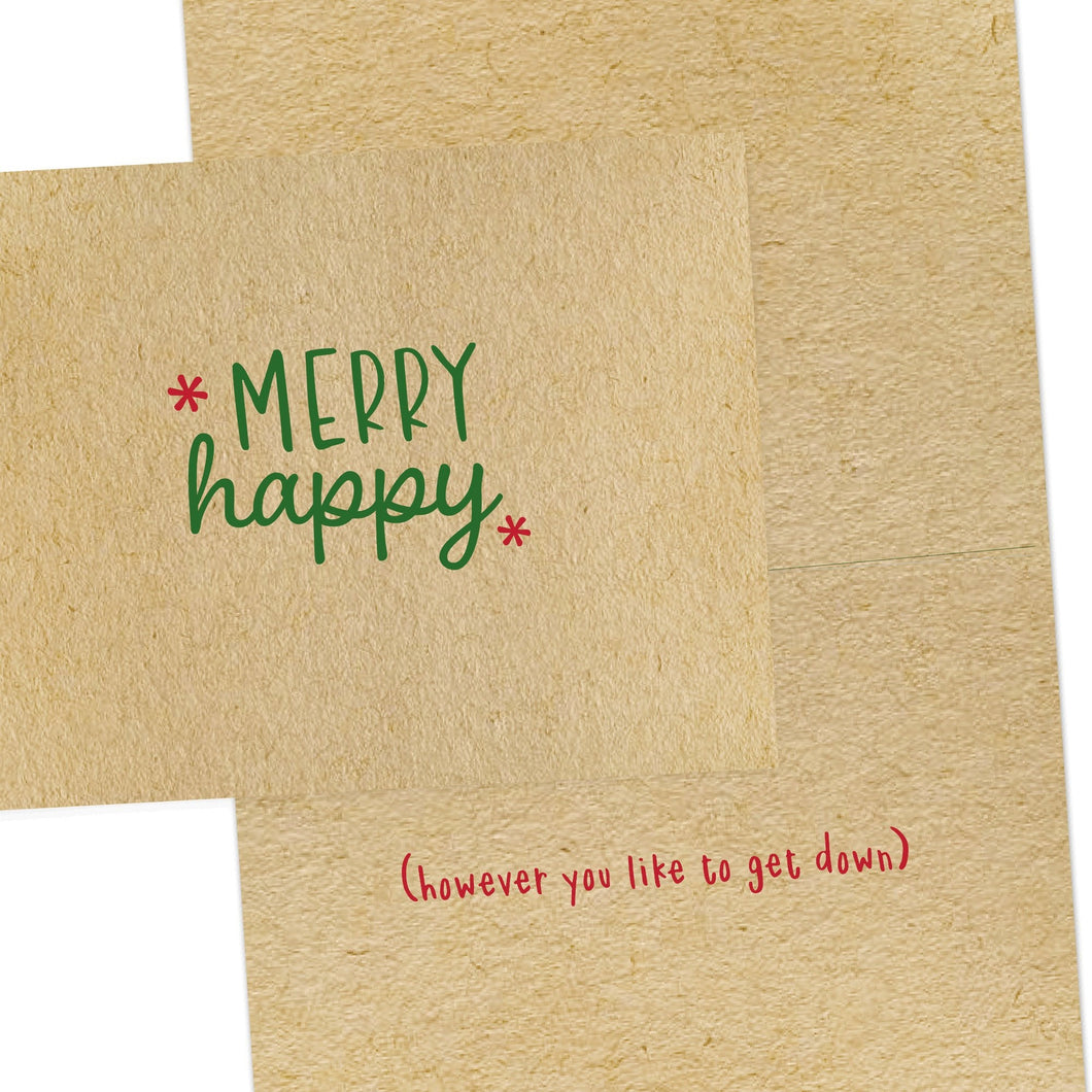 Merry Happy Everything Holiday Card