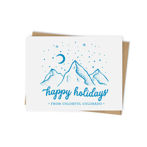 From Colorful CO Holiday Card