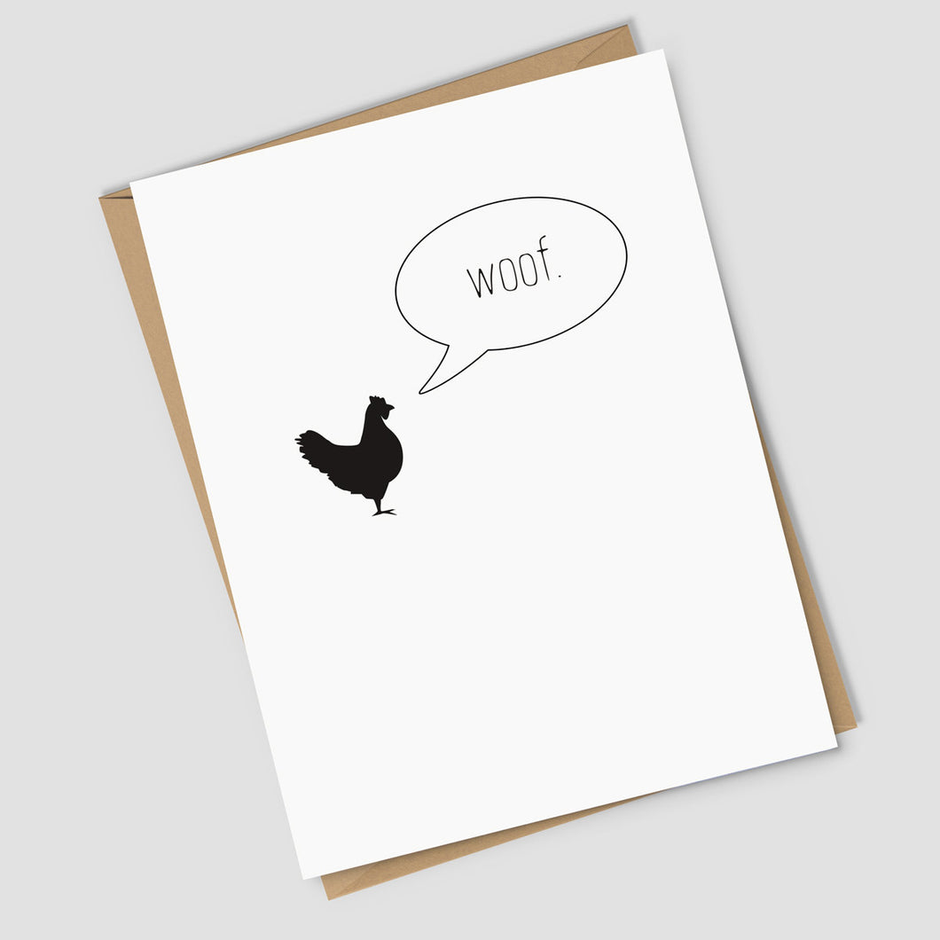 Rooster Get Well Card