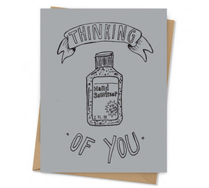 Hand Sanitizer Thinking Of You Card