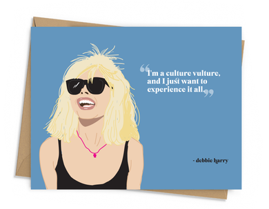 Debbie Harry Quote Card