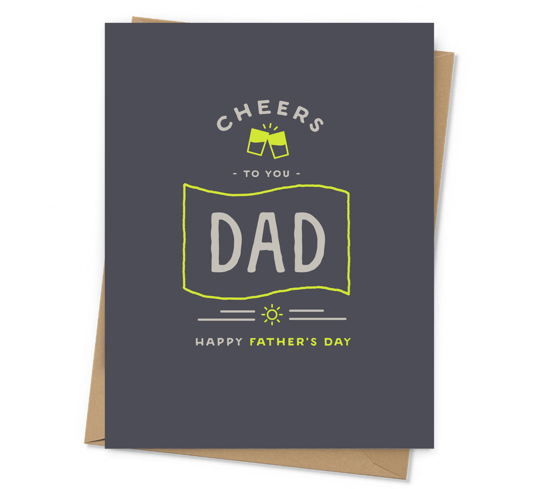 Cheers Father's Day Card
