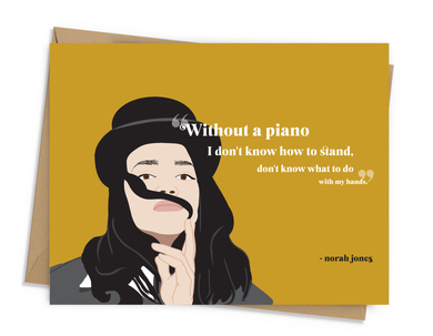 Norah Jones Quote Card