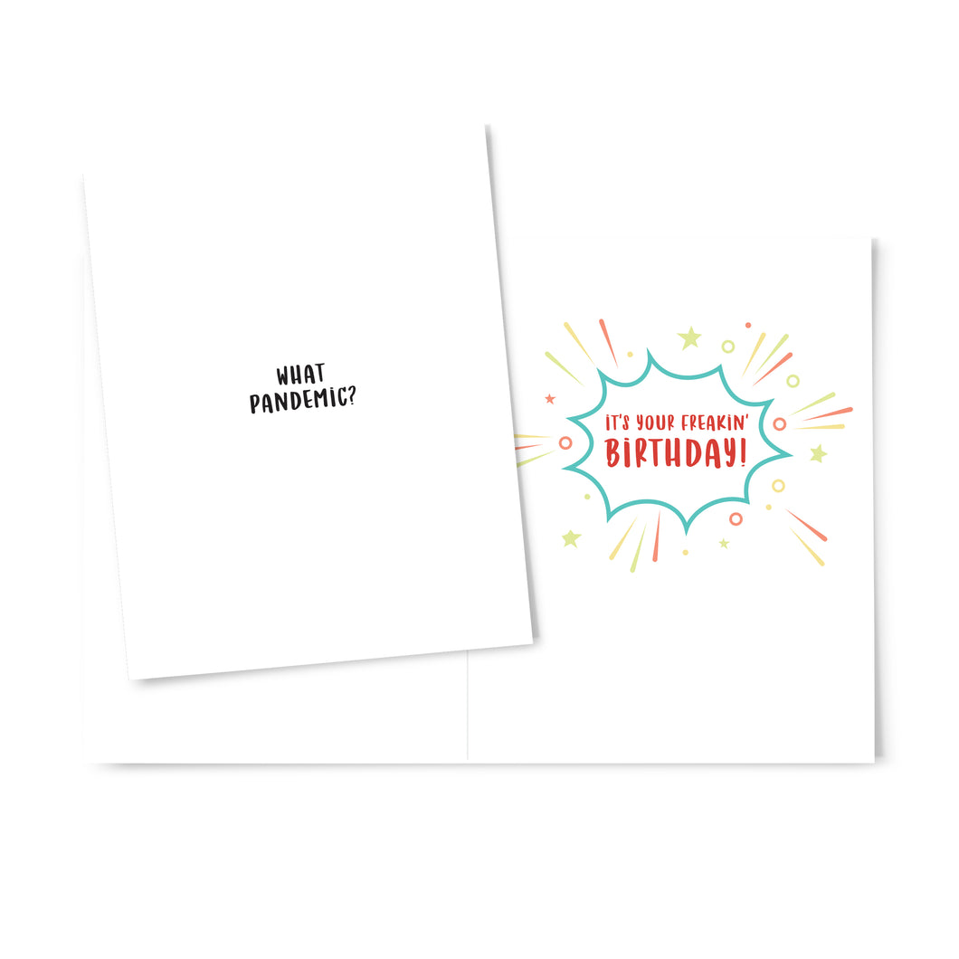 What Pandemic Birthday Card