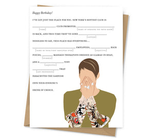 Stefon Birthday Card